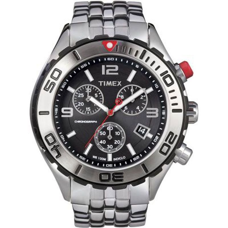 Mens Timex Chronograph Watch T2M759