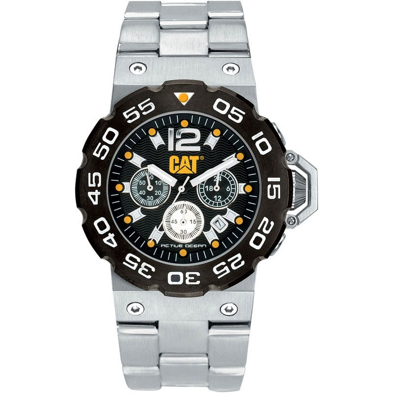 Mens Caterpillar Chronograph Watch D214311133