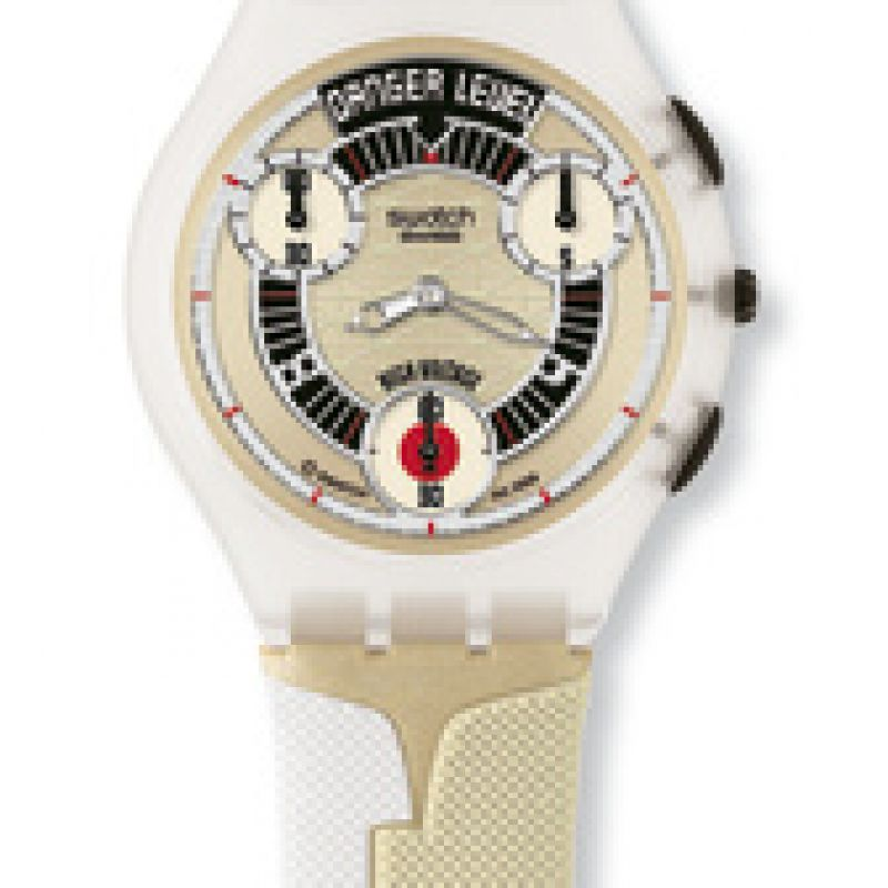 Unisex Swatch Dr No Chronograph Watch SUYK117