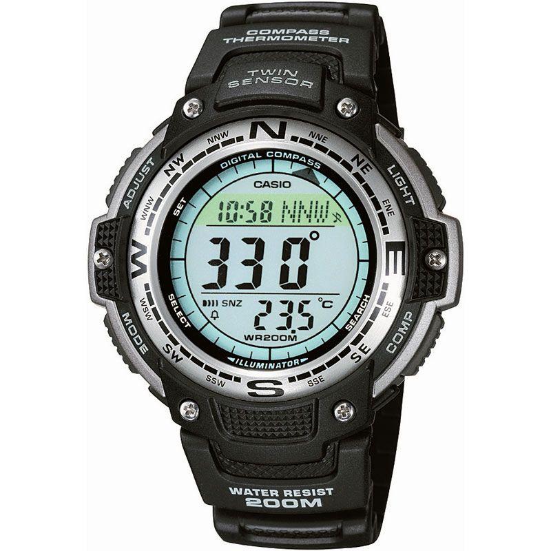 CASIO Uhr | Casio Pro Trek Herrenchronograph in Schwarz SGW-100-1VEF