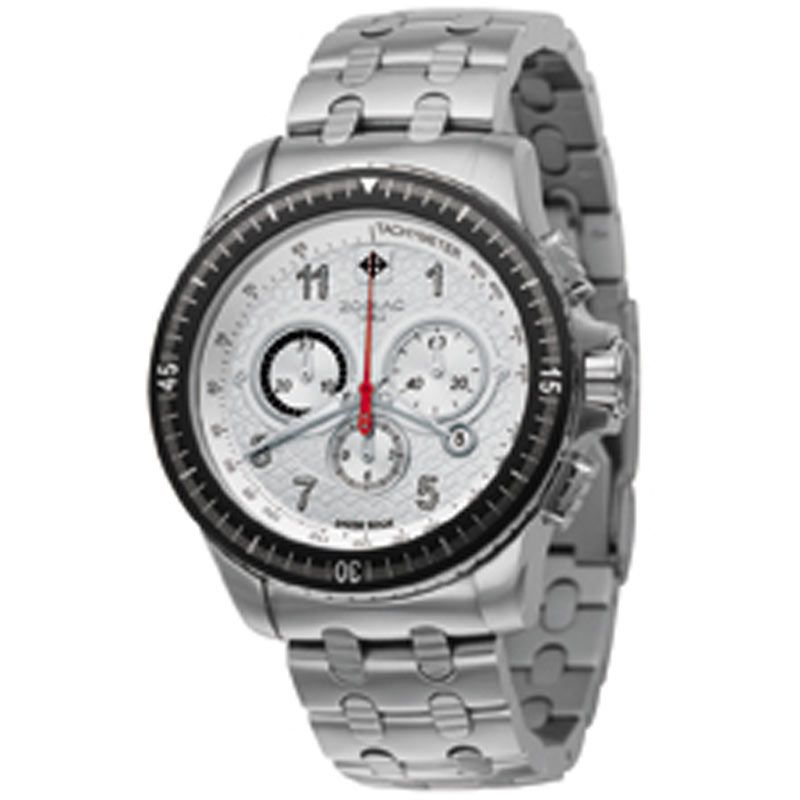 Mens Zodiac Racer Chronograph Watch ZO6501