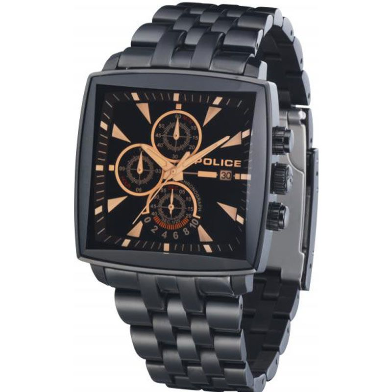 Mens Police Patrol Chronograph Watch 11401JSB/02M