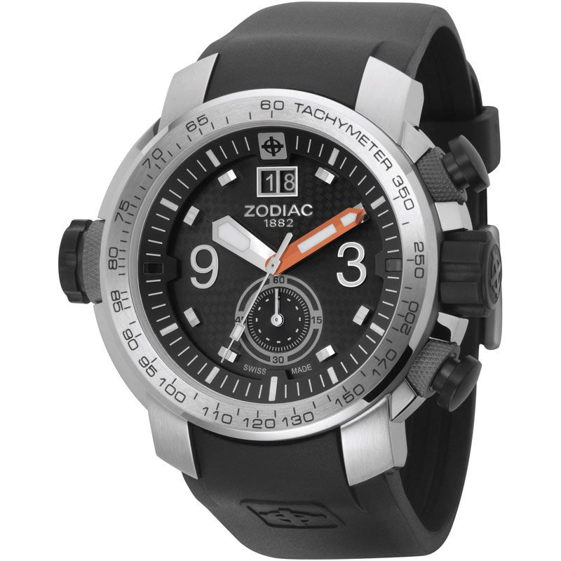 Mens Zodiac ZMX 03 Chronograph Watch ZO8505