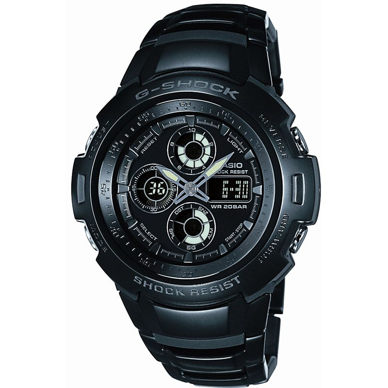 Mens Casio G-Shock Alarm Chronograph Watch G-702BD-1ADR