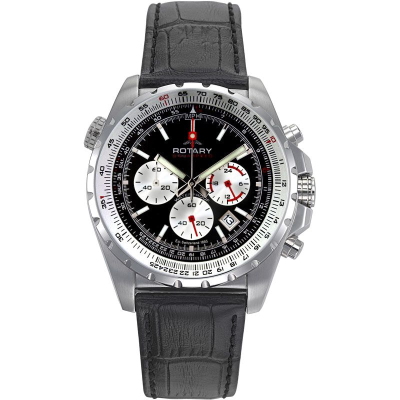 Mens Rotary Aquaspeed Chronograph Watch AGS00009/C/20