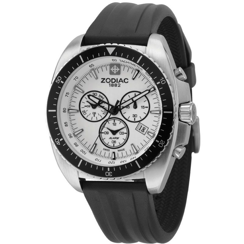 Mens Zodiac Alarm Chronograph Watch ZO5522