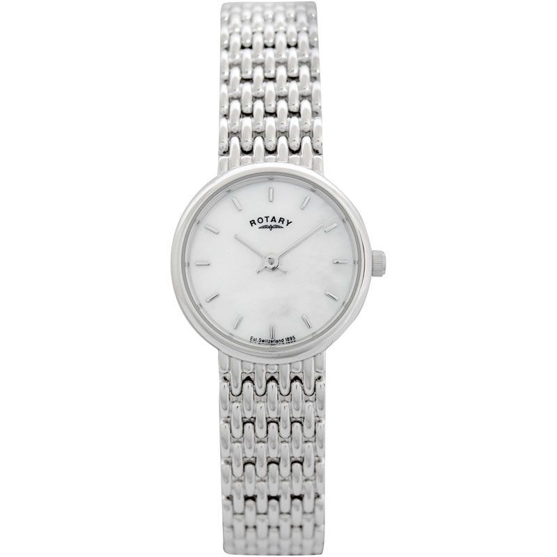 Ladies Rotary Silver Watch LB20900/41