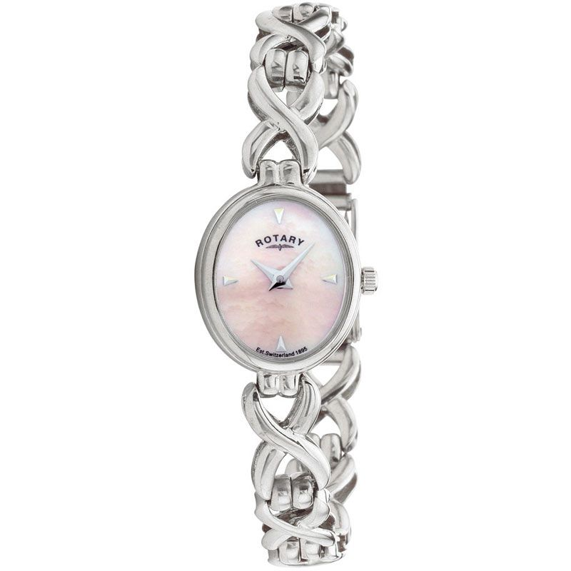 Ladies Rotary Silver Watch LB20214/07