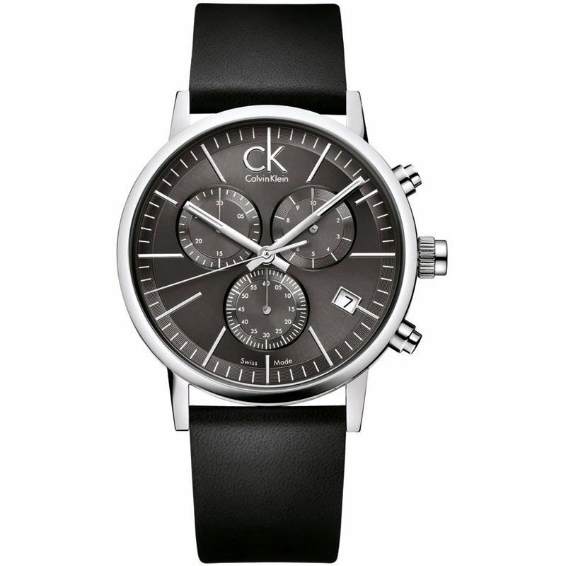 Mens Calvin Klein Post Minimal Chronograph Watch K7627107