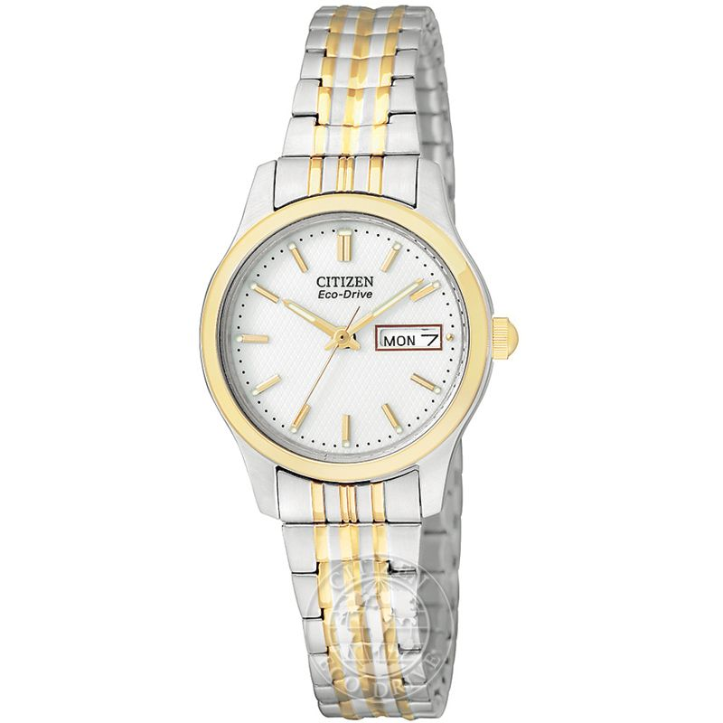 Ladies Citizen Eco-drive Ladies Expansion Bracelet Stainless Steel Watch EW3154-90A
