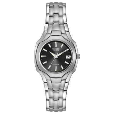 Ladies Citizen Eco-drive Titanium Titanium Watch EW1400-53H