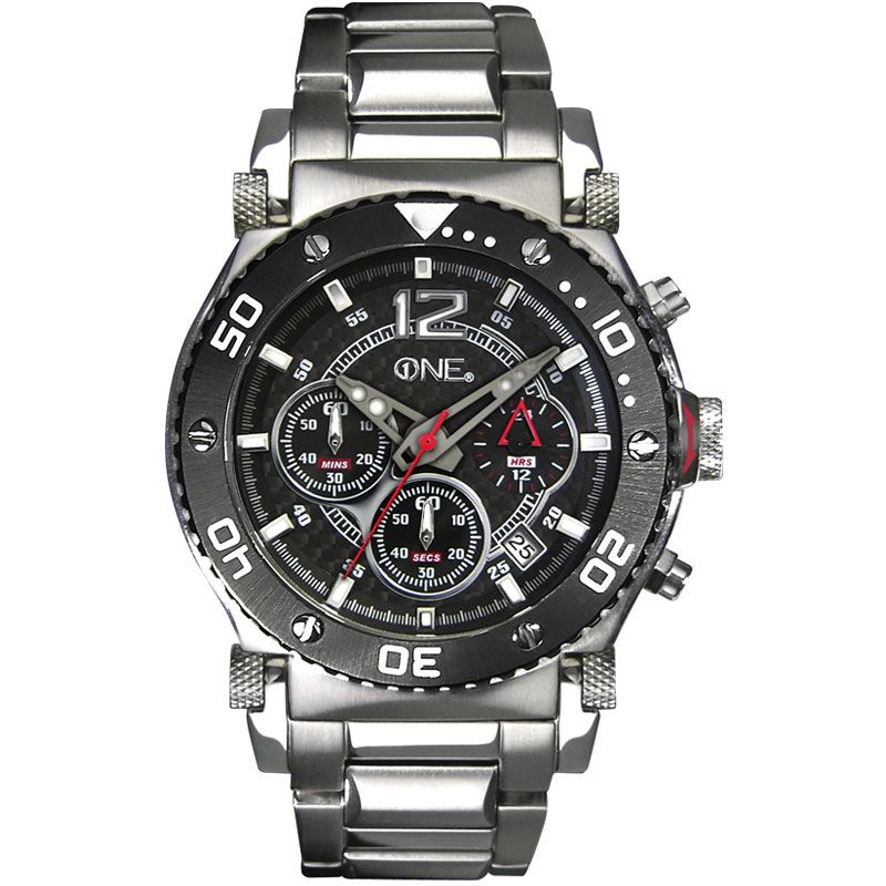 Mens Sekonda ONE Chronograph Watch 3053