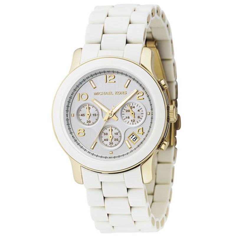 Ladies Michael Kors Runway Chronograph Watch MK5145