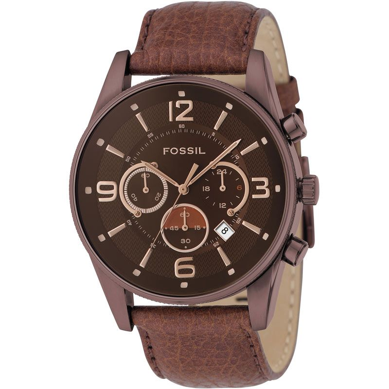 Mens Fossil Chronograph Watch FS4386