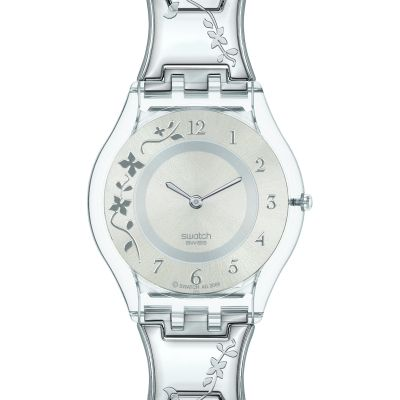 Ladies Swatch Skins Climber Flowery Watch SFK300G