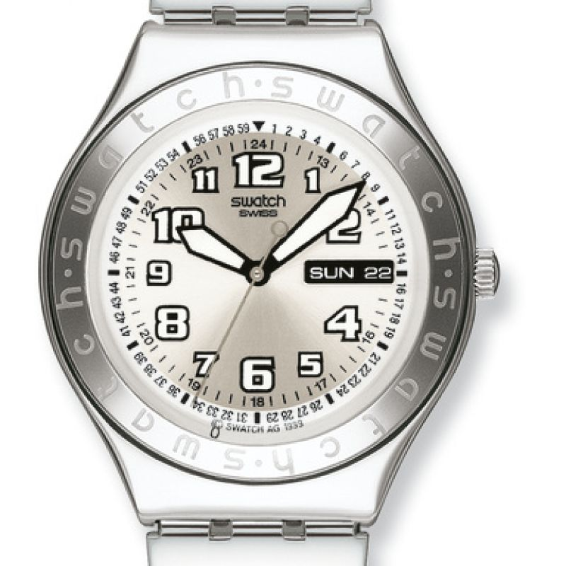 Mens Swatch Cool Days - Metal Watch YGS716GX