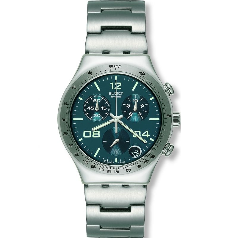 Mens Swatch Blustery Chronograph Watch YCS438G
