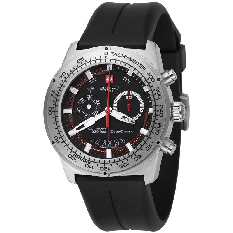 Mens Zodiac Admiral Chronograph Watch ZO4700