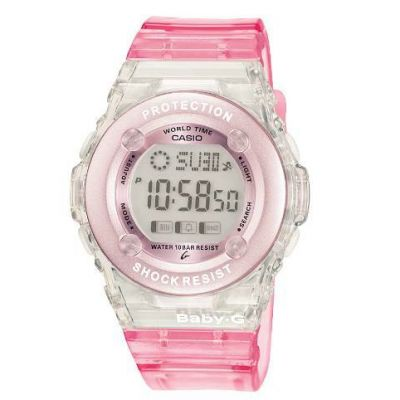 Ladies Casio Baby-G Alarm Chronograph Watch BG-1302-4ER