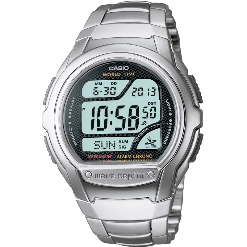 7b4192aa9706 Gents Casio Wave Ceptor Alarm Chronograph Watch (WV-58DU-1AVES ...