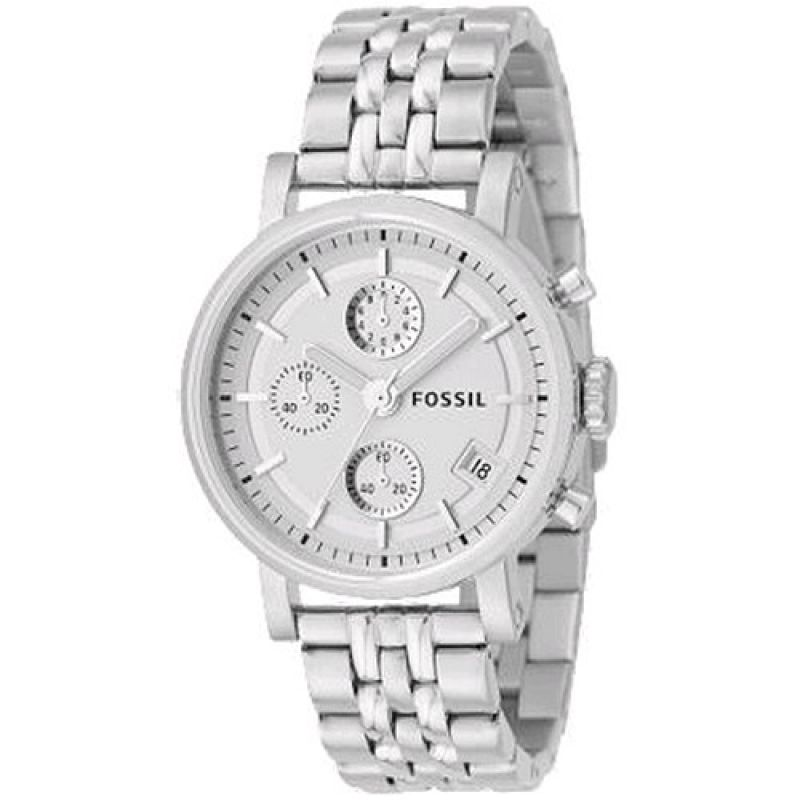 Ladies Fossil Chronograph Watch ES2198