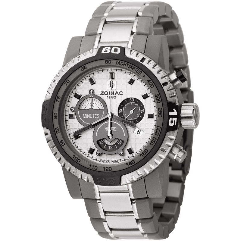 Mens Zodiac Chronograph Watch ZO7101