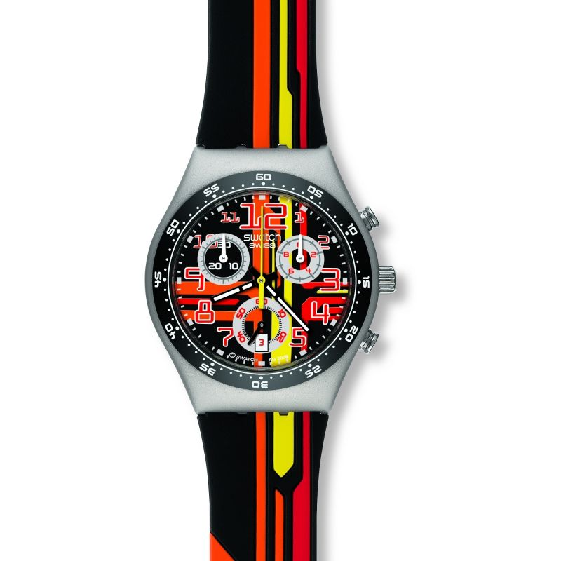 Ladies Swatch Sign Out Chronograph Watch