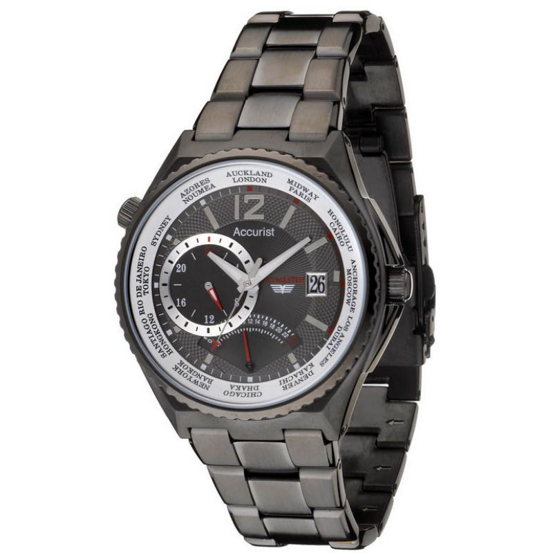 Mens Accurist Skymaster Watch MB757GR