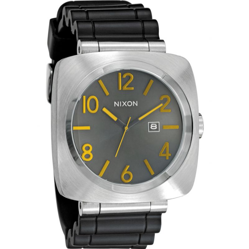 Mens Nixon The Volta PU Solar Powered Watch A118-293