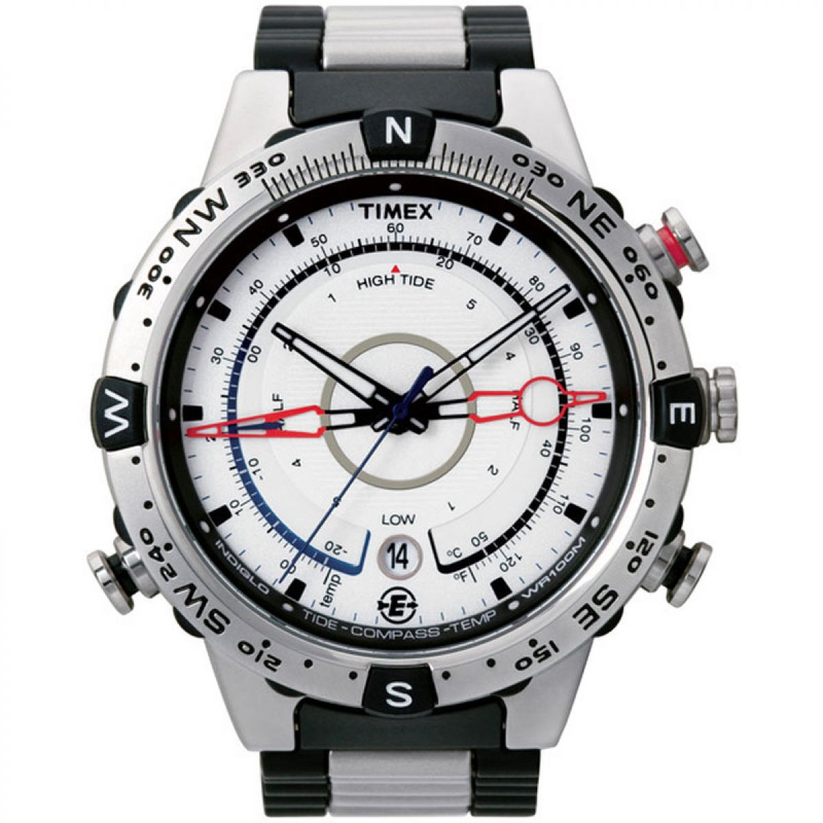 gents timex expedition e tide temp compass watch t45781 rh watchshop com Timex Indiglo Alarm Watch Manual Timex Expedition Watches Men