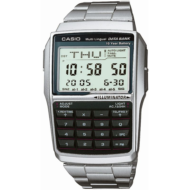 Mens Casio Databank Alarm Chronograph Watch DBC-32D-1AEF