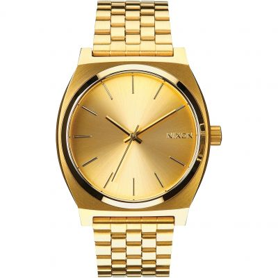 Nixon The Time Teller Unisexklocka Guld A045-511