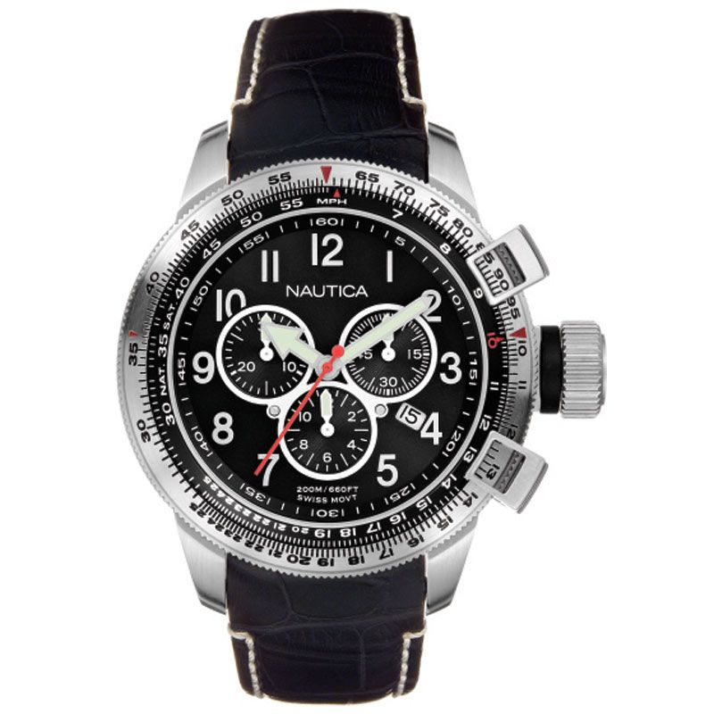 Mens Nautica BFC Chronograph Watch A29504G