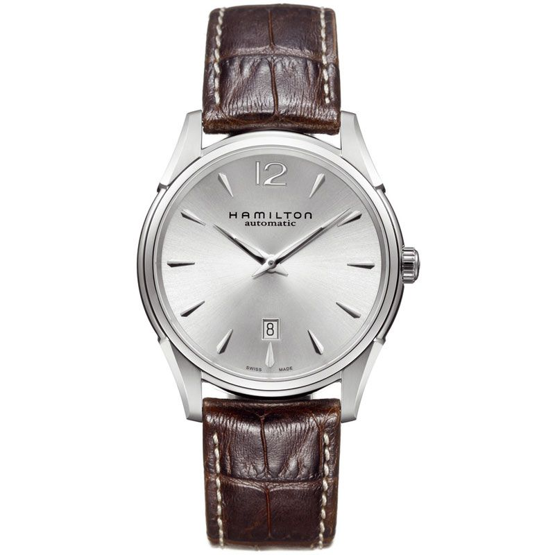 Mens Hamilton Jazzmaster Slim Automatic Watch