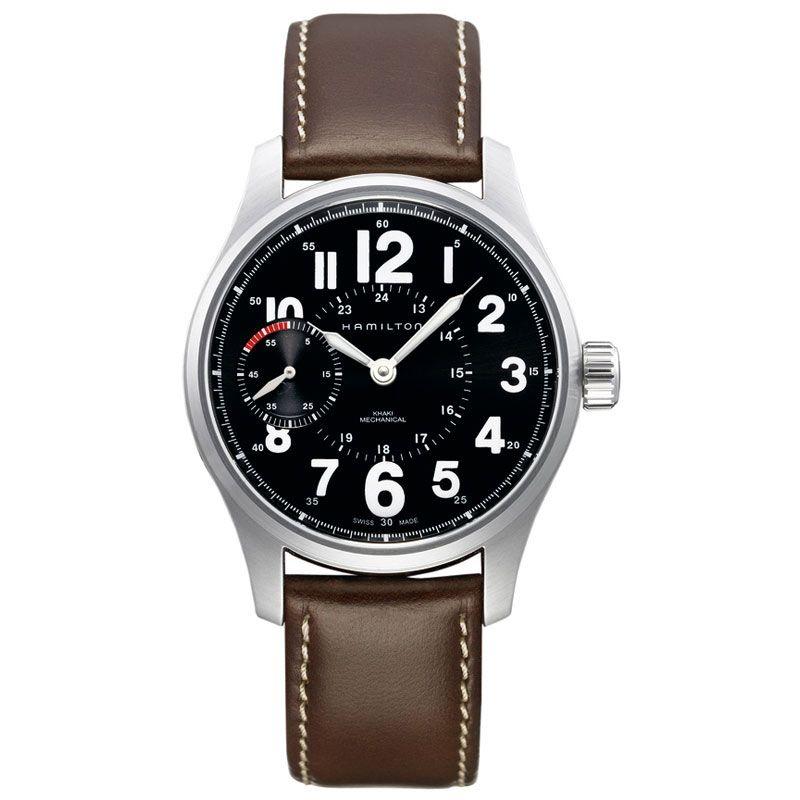 Mens Hamilton Khaki Field Officer Mechanical Watch