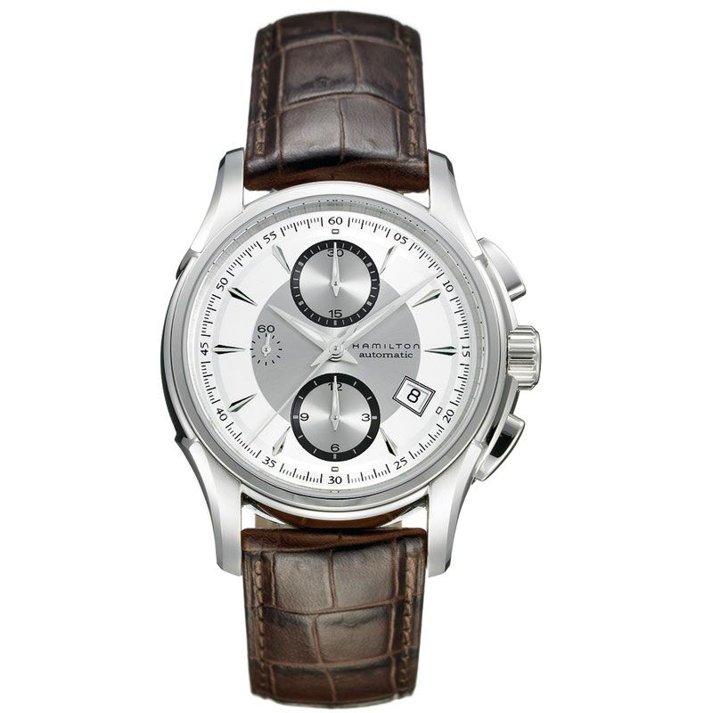 Mens Hamilton Jazzmaster Automatic Chronograph Watch
