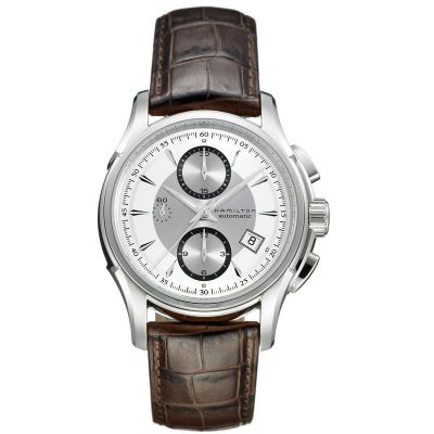 Mens Hamilton Jazzmaster Automatic Chronograph Watch H32616553