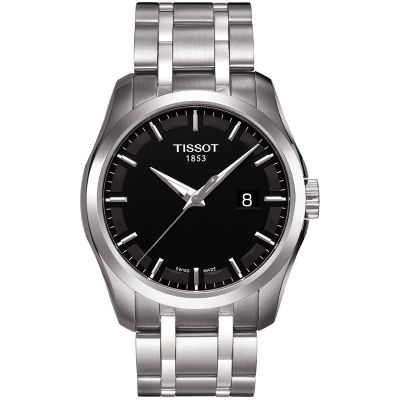 Tissot T-Classic Couturier Herrenuhr in Silber T0354101105100