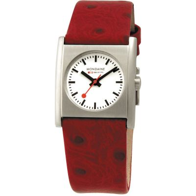 Ladies Mondaine Swiss Railways Evo Cube Watch A6583032026SBC