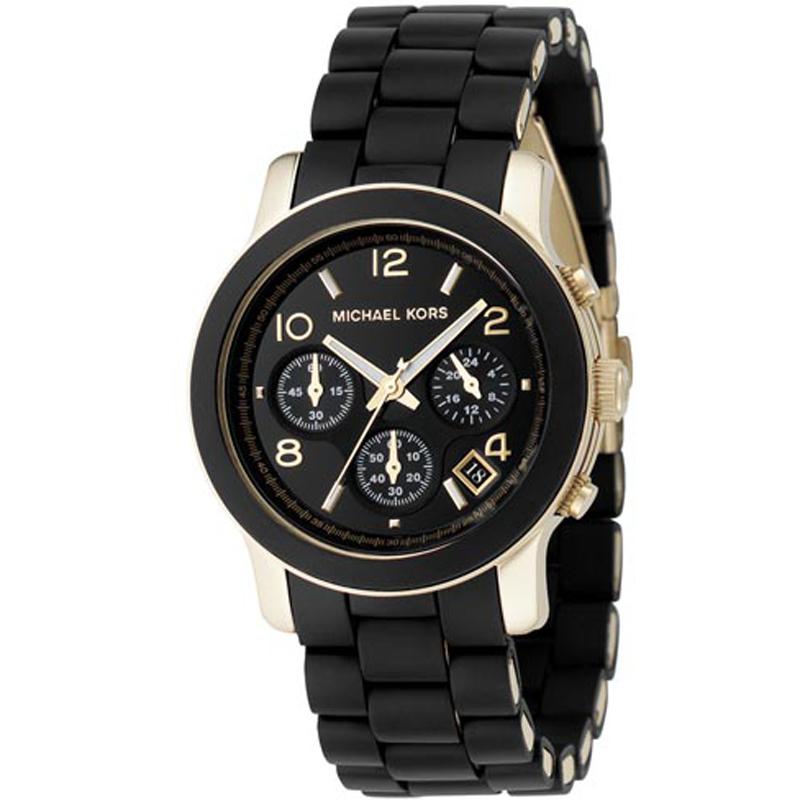 Ladies Michael Kors Runway Chronograph Watch (MK5191)  e99d578c36b4