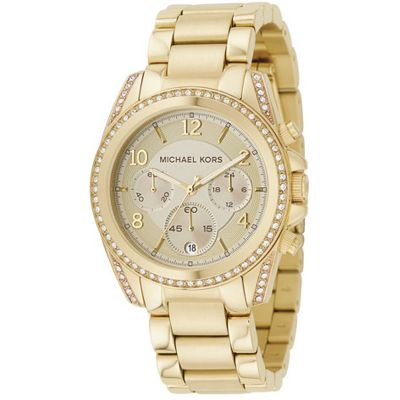 Ladies Michael Kors Blair Chronograph Watch MK5166