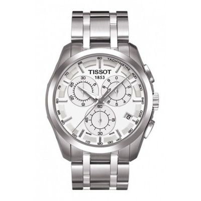 Tissot T-Classic Couturier Herrenchronograph in Silber T0356171103100