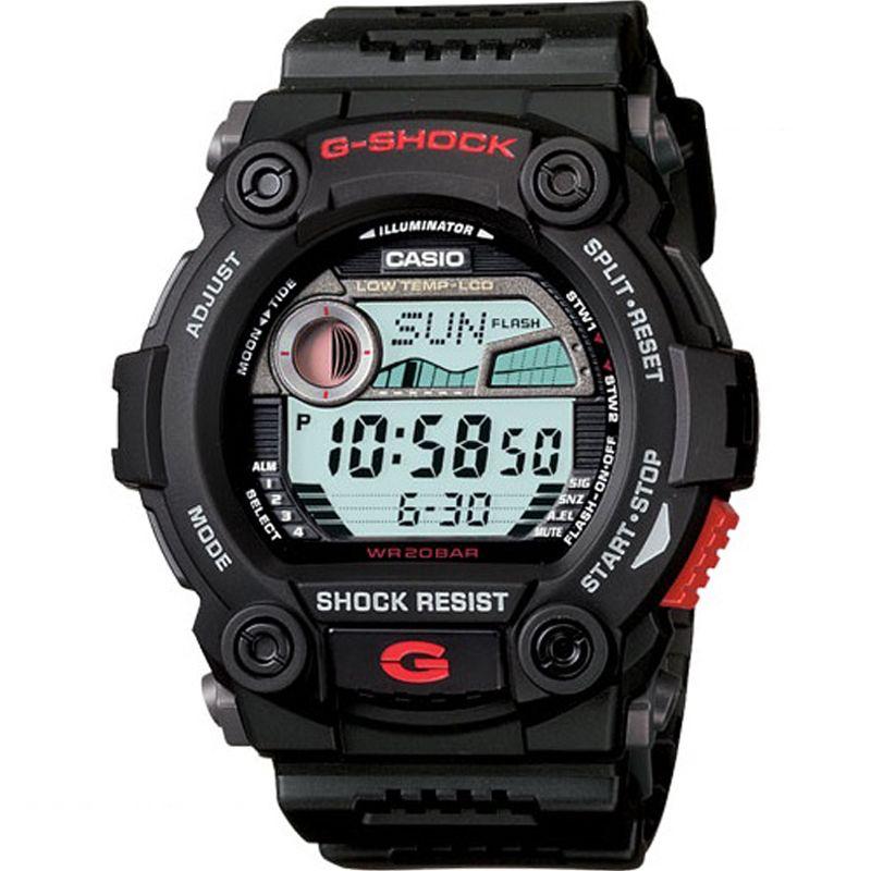 CASIO Casio G-Shock G-Rescue Herrenchronograph in Schwarz G-7900-1ER