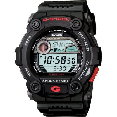 Casio G-Shock G-Rescue Herrenchronograph in Schwarz G-7900-1ER