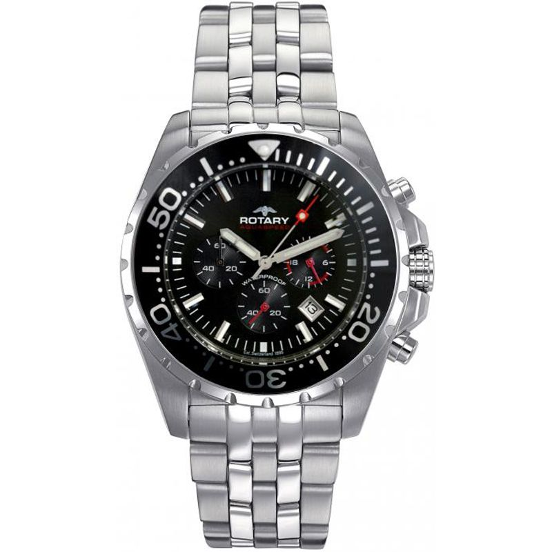 Mens Rotary Aquaspeed Chronograph Watch AGB00013/C/04