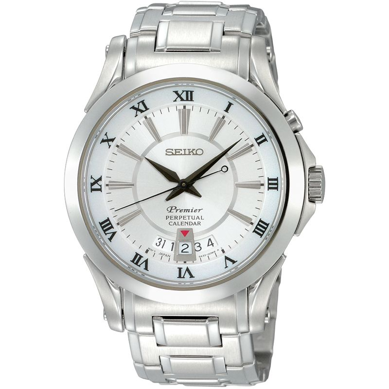 Mens Seiko Premier Watch SNQ107P1