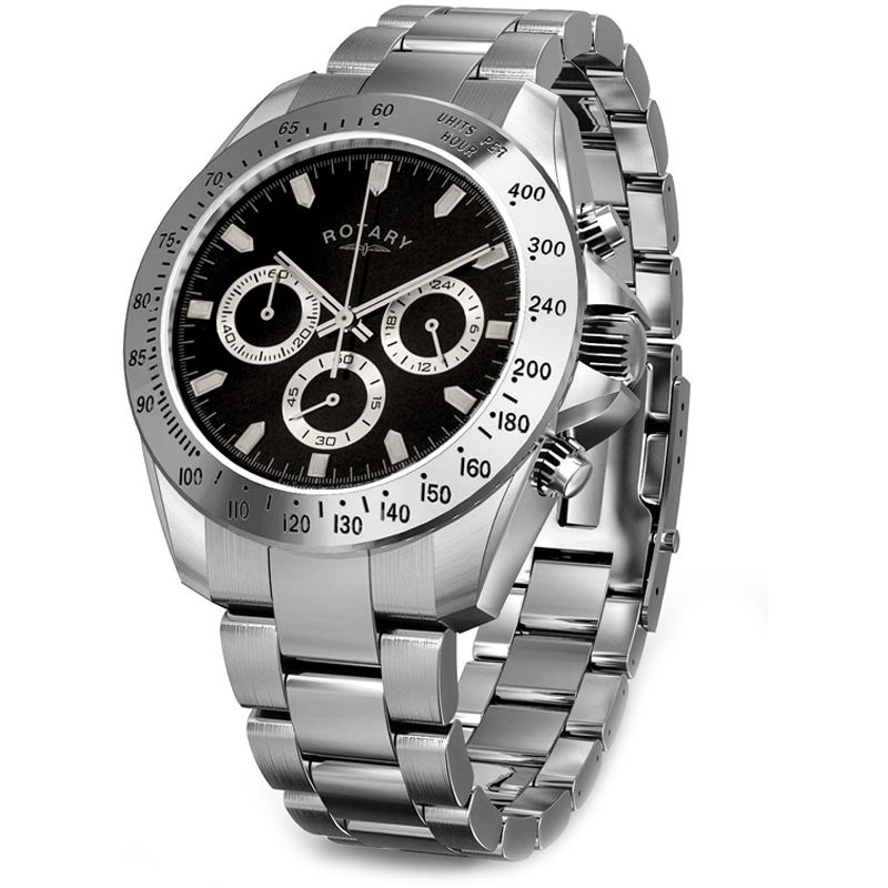 Mens Rotary Exclusive Chronograph Watch GB00004/04
