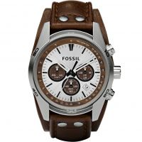 Mens Fossil Coachman Chronograph Cuff Watch CH2565