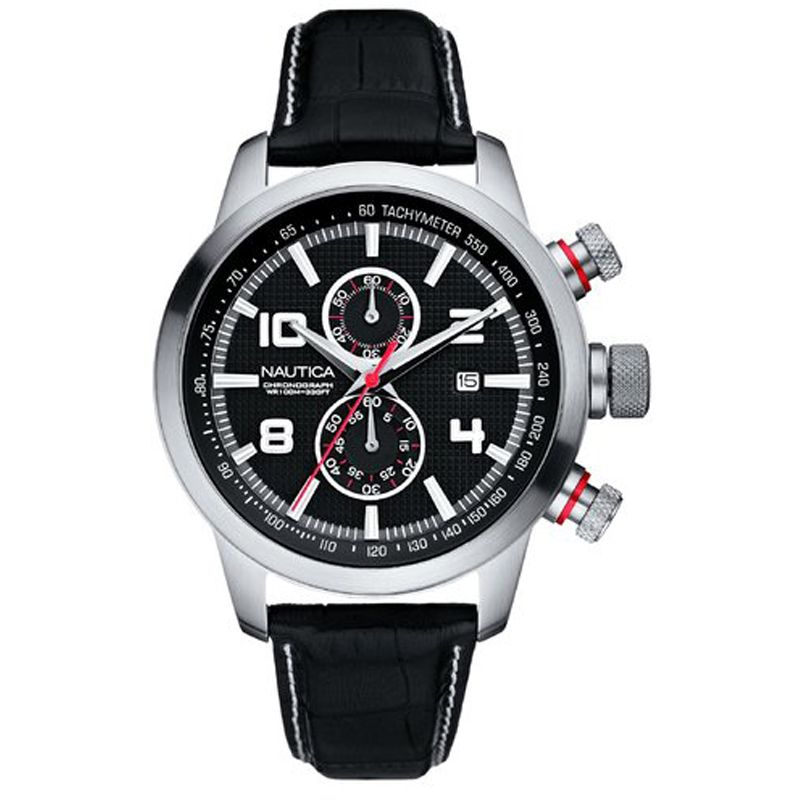 Mens Nautica NCT 400 Chronograph Watch A18546G