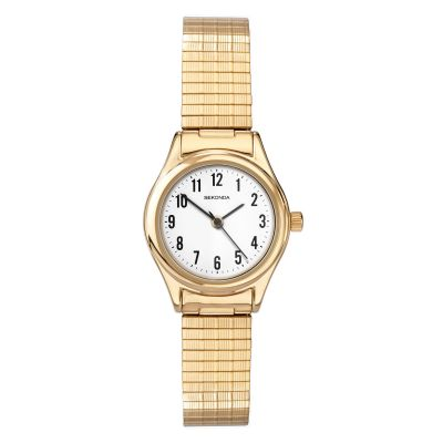 Sekonda Damenuhr in Gold 4602